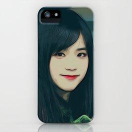 Kim Jisoo iPhone Case