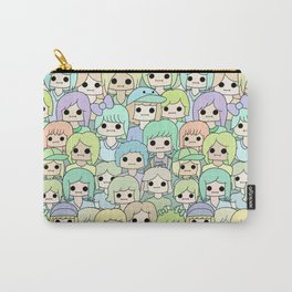 more faces never met (ver. 2) Carry-All Pouch