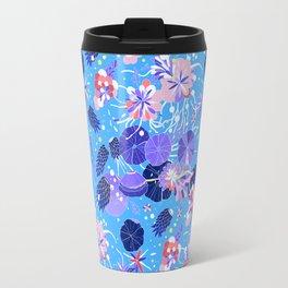 In Bloom Flower Print Travel Mug