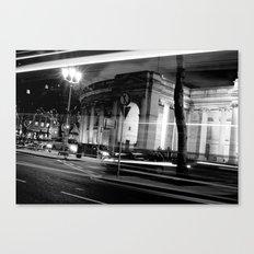 I Wish I May [Black & White] Canvas Print