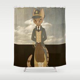 Ocicat Shower Curtain
