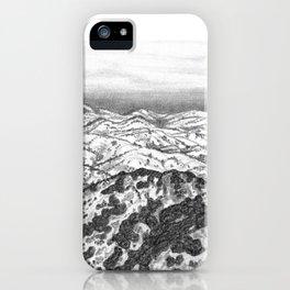 San Jose Hills iPhone Case