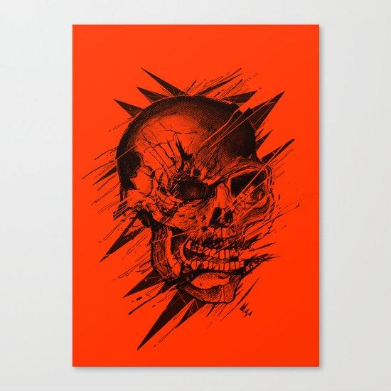 Skull's Not Dead Canvas Print