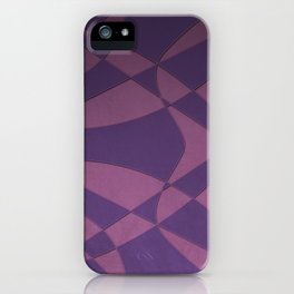 Wings and Saild - Purple and Pink iPhone Case