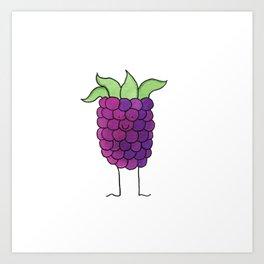 boysenberry Art Print