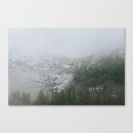 Hazy. Canvas Print