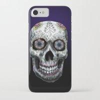 calavera iPhone & iPod Cases featuring Calavera by Joe Fern