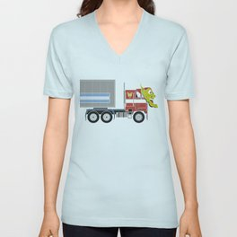Robot's Wrong Disguise Unisex V-Neck