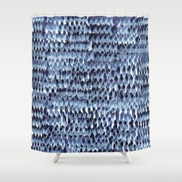 Tiny Feathers Shower Curtain