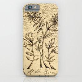 Oak Branch, 1907 - 1908 by  Henri Rousseau, fine french art iPhone Case