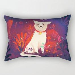 Lost Pupper Rectangular Pillow