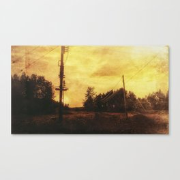 Rusty sunset Canvas Print