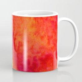 Sunset Blush Red Coffee Mug