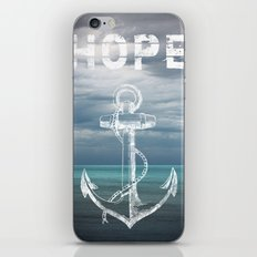 Hope Anchor iPhone & iPod Skin