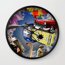 Scrambled Art Wall Clock