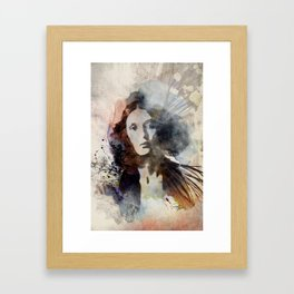 She I Framed Art Print