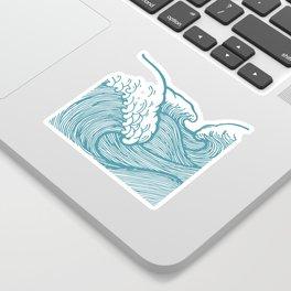 Great Waves Sticker