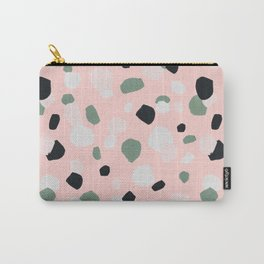 Terrazzo confetti - pink Carry-All Pouch