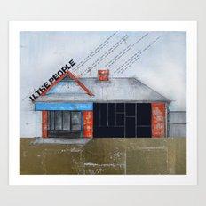 Untitled - The People  Art Print