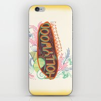 decorative iPhone & iPod Skins featuring Decorative Typographic by famenxt