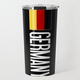 Germany: Germany & German Flag Travel Mug