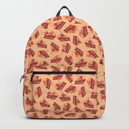 cherries & cakes- peach orange Backpack