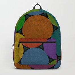 Colorful bohemian circles Backpack