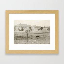 """""""Vintage Valley"""" by Murray Bolesta! Framed Art Print"""