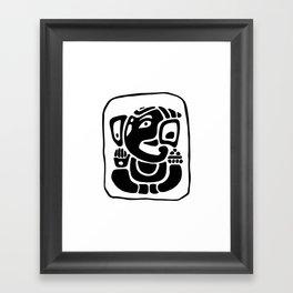 Shri Ganapati Framed Art Print