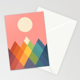 Rainbow Peak Stationery Cards