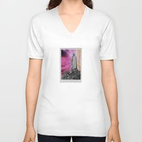 trip V-neck T-shirts featuring trip by lina