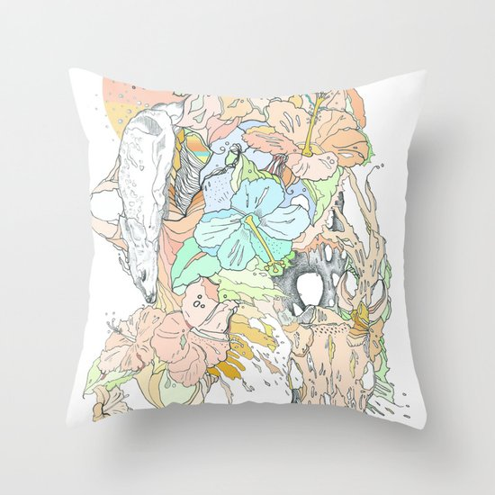 seventeenth daydream Throw Pillow