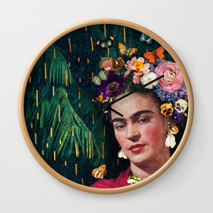 Frida Kahlo :: World Women's Day Wall Clock
