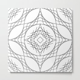 Geometric #11b Metal Print