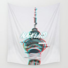 Neo Auckland (RGB- Split) Wall Tapestry