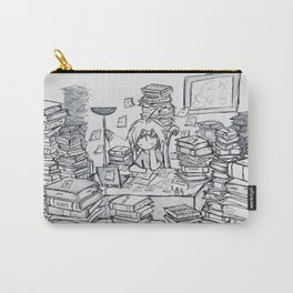 The Overworked Mad Scientist Carry-All Pouch