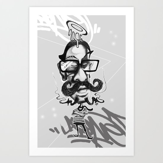 All Hipsters Are Created Equal Art Print