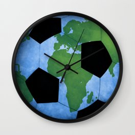 The World Of Soccer Wall Clock