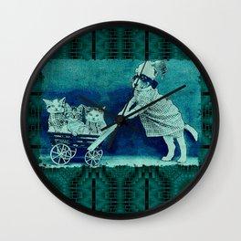 CatDogCurios 11 Wall Clock