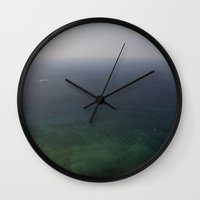 boats Wall Clocks featuring Boats by Bryce Evans