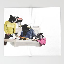 You Are Who You Eat! #2 Throw Blanket