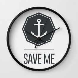 Save me Wall Clock