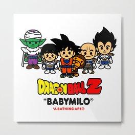 Dragonball z baby milo Metal Print