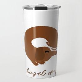Bagel Dog Travel Mug