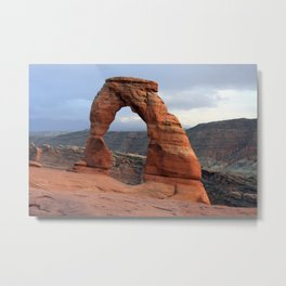 Delicate Arch, Arches National Park, Utah Metal Print