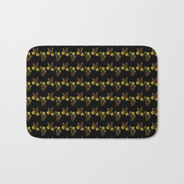 Sunflowers Grow On Kitttens Feat. LittleOne.nub Bath Mat