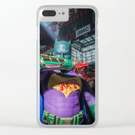 put a smile on Clear iPhone Case