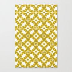 Starburst - Gold Canvas Print