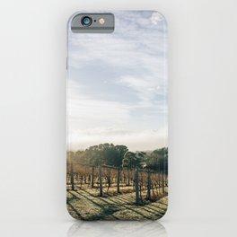 Sunny vines iPhone Case