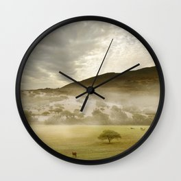 Spring Mood IV Wall Clock